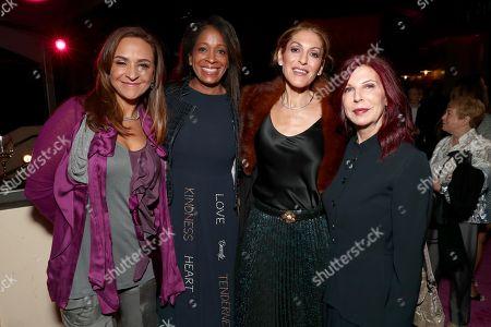 Gabriela Martinez, Camille Hackney, Julie Greenwald and Andrea Ganis