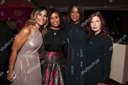Jennifer Baltimore, Camille Hackney, Andrea Ganis and guest