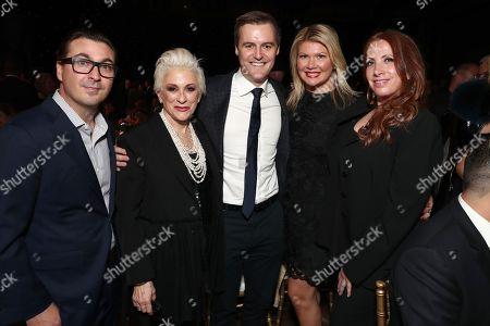 John Amato, Marsha Vlasic, Marcie Allen, Cara Lewis and guest