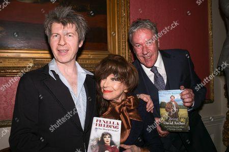 Stock Photo of Simon Mackay, Fenella Fielding, Tim Bentinck