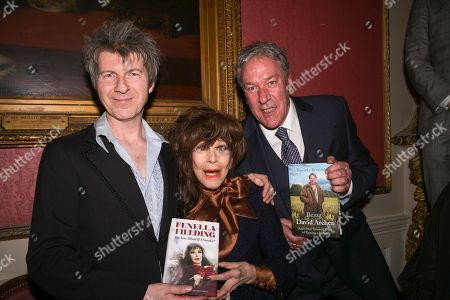 Stock Photo of Simon Mackay, Fenella Fielding, Tim Bentinck