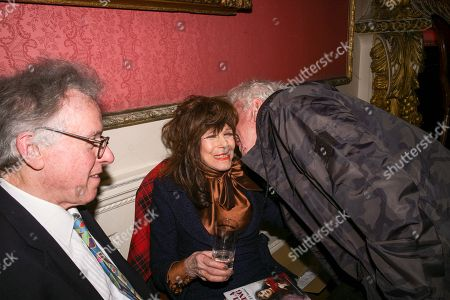 Stock Picture of Fenella Fielding, Nicky Haslam