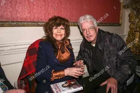 Stock Image of Fenella Fielding, Nicky Haslam