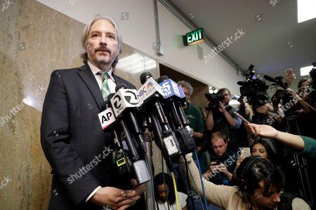 Editorial picture of Pier Shooting, San Francisco, USA - 30 Nov 2017