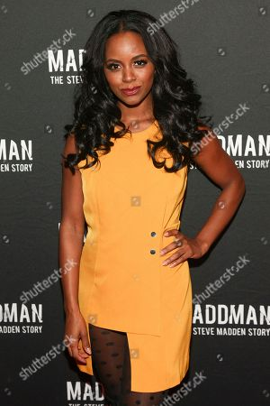 "Krystal Joy Brown attends the premiere of ""Maddman: The Steve Madden Story"" at iPic Theater, in New York"
