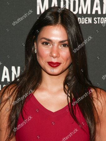 """Amanda Faical attends the premiere of """"Maddman: The Steve Madden Story"""" at iPic Theater, in New York"""