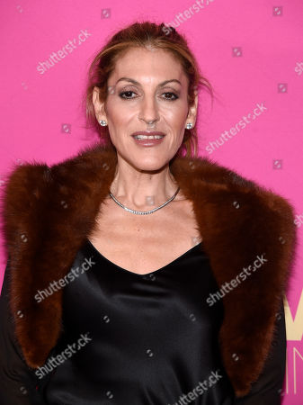 Julie Greenwald, chairman and COO, Atlantic Records, arrives at the Billboard Women in Music event at the Ray Dolby Ballroom, in Los Angeles