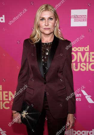 Natalia Nastaskin, head of U.S. music operations, United Talent Agency, arrives at the Billboard Women in Music event at the Ray Dolby Ballroom, in Los Angeles