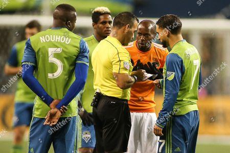 Editorial image of MLS Dynamo vs Sounders, Seattle, USA - 30 Nov 2017