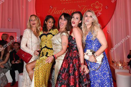 Sonja Kiefer, Gitta Saxx, Heydi Nunez Gomez and Alessandra Geissel,.