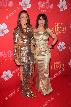 Simone Ballack and Gitta Saxx,.