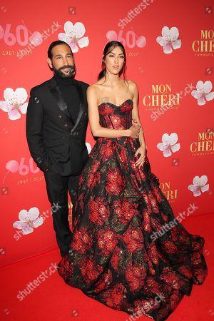 Rebecca Mir mit Massimo Sinato, .