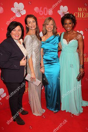 Stock Picture of Vera Int-Veen, Sabrina Staubitz, Nicole Noevers and Arabella Kiesbauer,.