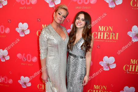 Stock Image of Claudia Effenberg mit Tochter Lucia Strunz