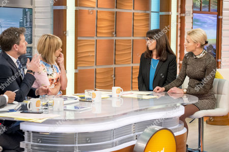 Ben Shephard and Kate Garraway with Robyn Stein Deluca and Helen Croydon