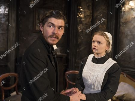 Alexander Knox as Stranger, Ella Dunlop as Stasia