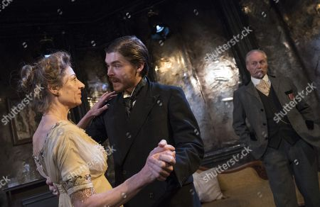 Editorial image of 'The Passing of the Third Floor Back' Play performed at The Finborough Theatre, London, UK, 29 Nov 2017