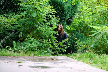 Ep 9326 Friday 15th December 2017 - 1st Ep As Anna Windass, as played by Debbie Rush, lurks in the bushes on the Red Rec, she sees Craig Tinker, as played by Colson Smith, approaching.