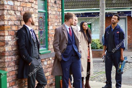 Editorial image of 'Coronation Street' TV Series - Dec 2017 - Jan 2018