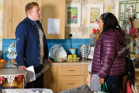 Ep 9337 & 9338 Tuesday 26th December 2017  Jess, as played by Donnaleigh Bailey, calls at the salon flat and handing Craig Tinker, as played by Colson Smith, an application form, tells him it's time he applied to join the police force as he?d make a great officer. Craig's touched.