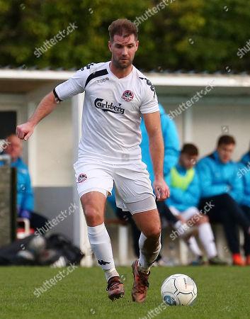 Ben Harding of Truro City on the ball