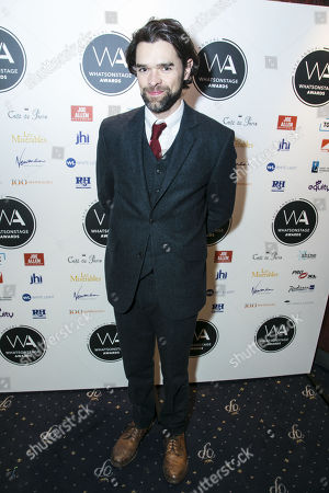 Editorial photo of '2018 WhatsOnStage Awards' Awards, Nominations Party, London, UK - 01 Dec 2017