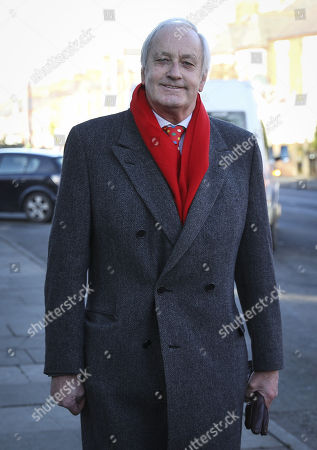 Stock Picture of Leader of the UK Independence Party in Wales Neil Hamilton attends the funeral