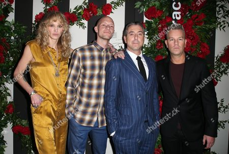Editorial picture of Land of Distraction launch party, Los Angeles, USA - 30 Nov 2017