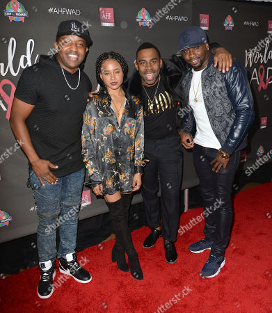 Stock Picture of DJ Mal-Ski, Rhyon Brown, MAJOR, Harmony Samuels