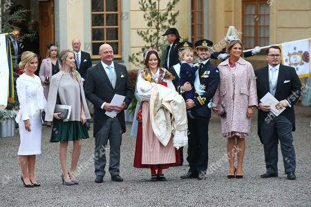 Editorial image of Christening of Prince Gabriel, Drottningholm, Sweden - 01 Dec 2017