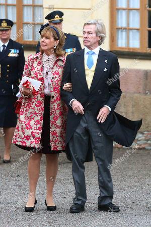 Stock Photo of Prince Leopold of Bavaria, wife, Princess Ursula