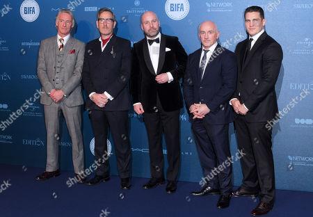 Paul Weller, Michael Smiley, Johnny Harris, Barry McGuigan and Shane McGuigan