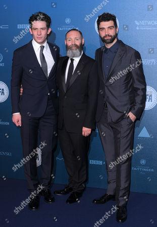 Josh O'Connor, Francis Lee and Alec Secareanu