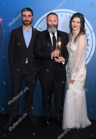 Editorial image of British Independent Film Awards, Press Room, Old Billingsgate, London, UK - 10 Dec 2017