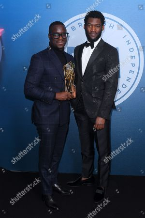 Editorial photo of British Independent Film Awards, Press Room, Old Billingsgate, London, UK - 10 Dec 2017