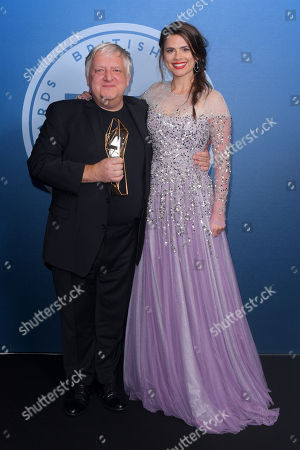 Simon Russell Beale - Best Supporting Actor - The Death of Stalin, presented by Hayley Atwell