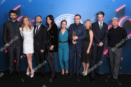 Editorial picture of British Independent Film Awards, Press Room, Old Billingsgate, London, UK - 10 Dec 2017