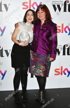 Editorial image of Sky Women in Film and TV Awards, Press Room, London, UK - 01 Dec 2017