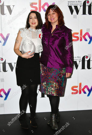 Editorial photo of Sky Women in Film and TV Awards, Press Room, London, UK - 01 Dec 2017