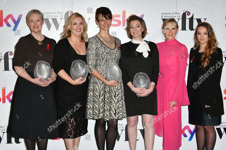 Philippa Lowthorpe, Una Ni DHongaille, Susan Hogg, Nicole Taylor, Lesley Sharp, Molly Windsor