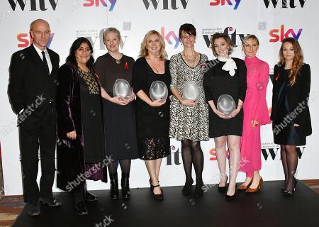 Editorial image of Sky Women in Film and TV Awards, Press Room, London, UK - 01 Dec 2017
