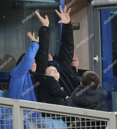 Editorial photo of Everton v Huddersfield Town, Premier League, Football, Goodison Park, UK - 02 Dec 2017