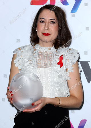 Editorial picture of Sky Women in Film and TV Awards, Press Room, London, UK - 01 Dec 2017