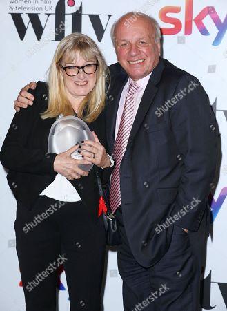Editorial photo of Sky Women in Film and TV Awards, Press Room, London, UK - 01 Dec 2017