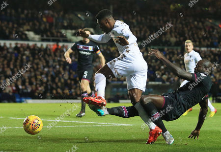 Editorial photo of Leeds United v Aston Villa, Sky Bet Championship, Elland Road, Leeds , UK - 01 December 2017