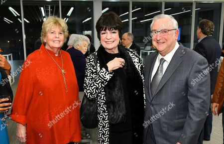"Linda Hope, JoAnne Worley, Tony Mantalto. Linda Hope, JoAnne Worley and Tony Mantalto attend a VIP reception for the Television Academy Foundation's public program, ""THE POWER OF TV -- AMERICAN MASTERS: This is Bob Hope...,"" a special screening and discussion on at the Saban Media Center in North Hollywood, Calif"