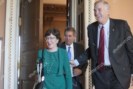 Susan Collins, Jeff Flake and Luther Strange