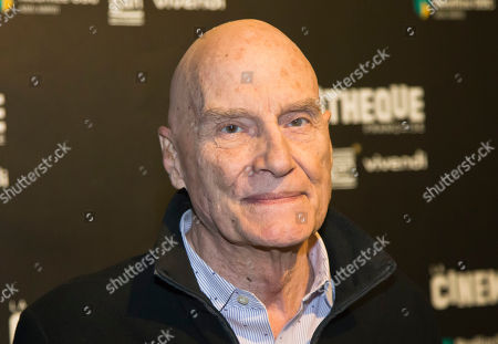 """Swiss director Barbet Schroeder poses during a photocall prior to the screening of the movie """"Les Gardiennes"""" in Paris"""