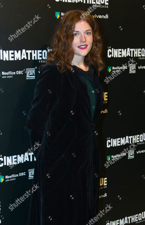 """French actress Iris Bry poses during a photocall prior to the screening of the movie """"Les Gardiennes"""" in Paris"""