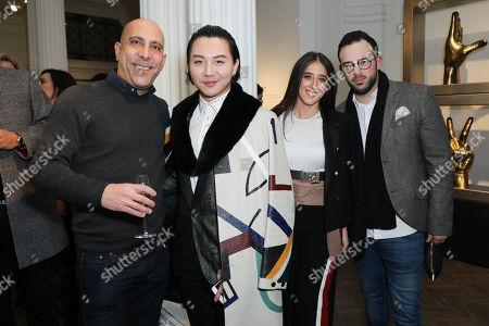 Simon Binke of Berkeley Travel with Beau Han Xu and Ella Jade